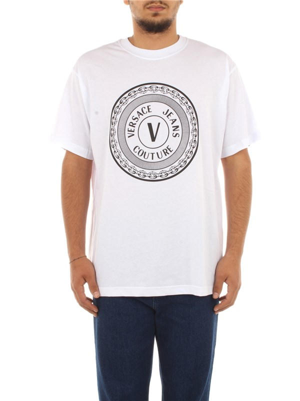 Versace Jeans Couture Clothing men T-shirt White B3 GZA7TJ 30319