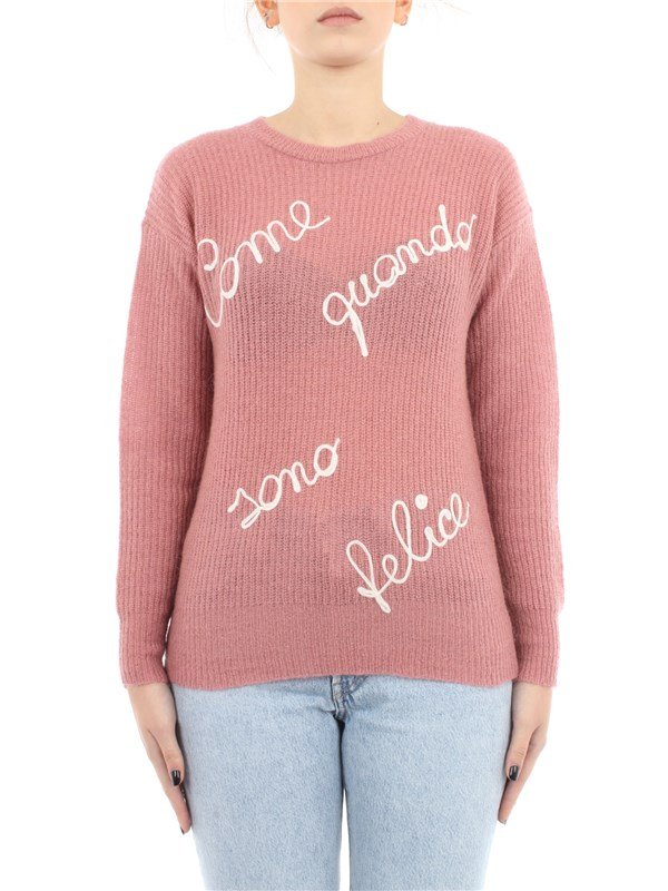 Vicolo Clothing women Sweater Rose 7072M