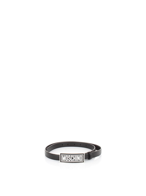 Moschino Couture Accessories men Belt Black A 8013 8001