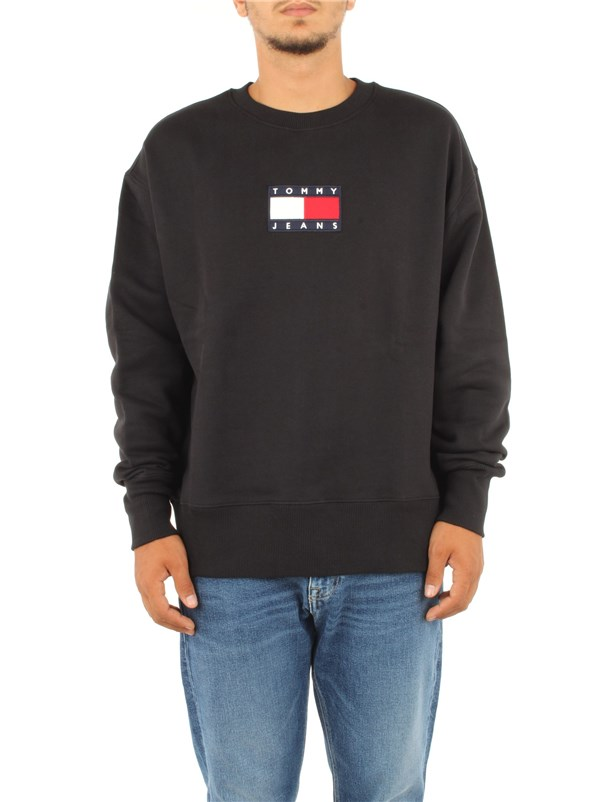 Tommy Hilfiger Jeans Clothing men Sweatshirt Black DM0DM08488