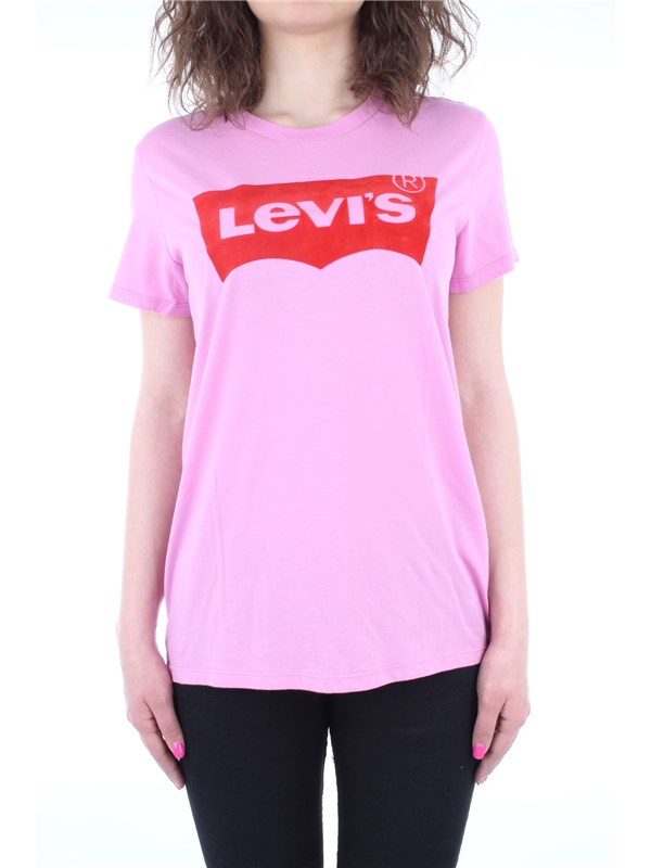 Levi's Clothing women T-shirt Rose 17369-0368
