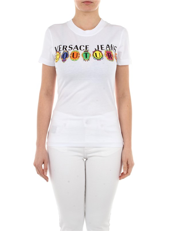 Versace Jeans Couture Clothing women T-shirt White B2 HWA7PA 30457