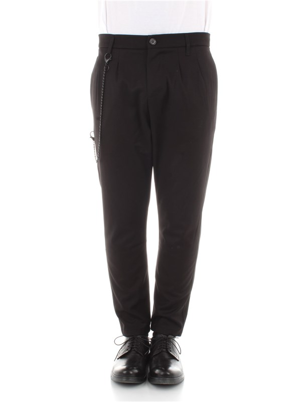 Imperial Clothing men Trousers Black PB51ABZ