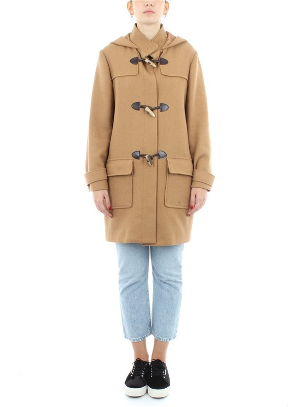 Dixie Clothing women Overcoat Camel KAR9MBA