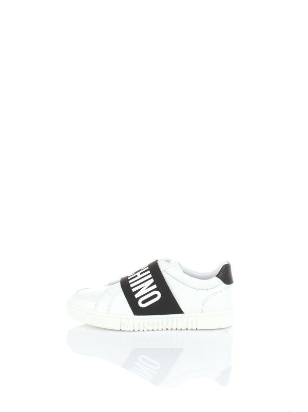 Moschino Couture Shoes men Sneakers White black MB15032G1CGA1