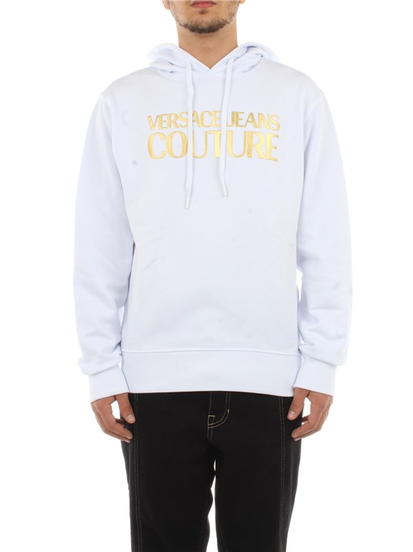 Versace Jeans Couture Clothing men Sweatshirt White B7 GWA7TP 30318