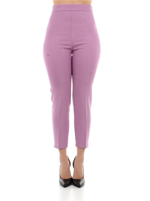 Pinko Clothing women Trousers Violet 1G15P0-8385