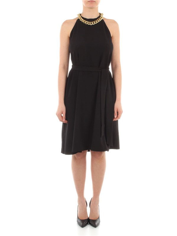 Pinko Clothing women Dress Black 1G161T-8270