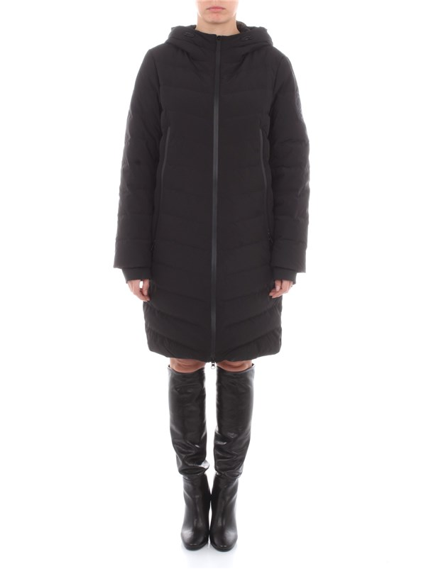 Bosideng Clothing women Coat Black F20ITW32010