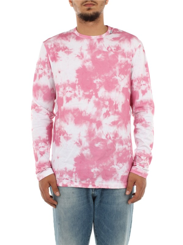 Msgm Clothing men T-shirt Rose MM.MM0.004