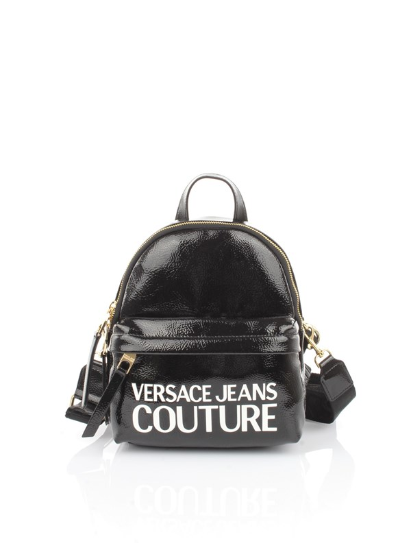 Versace Jeans Couture Accessories women Backpack Black White E1 VZABP4 71412