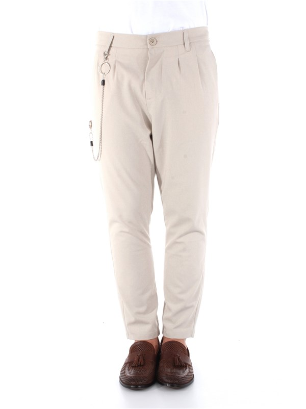 Imperial Clothing men Trousers Beige PB51ZBI