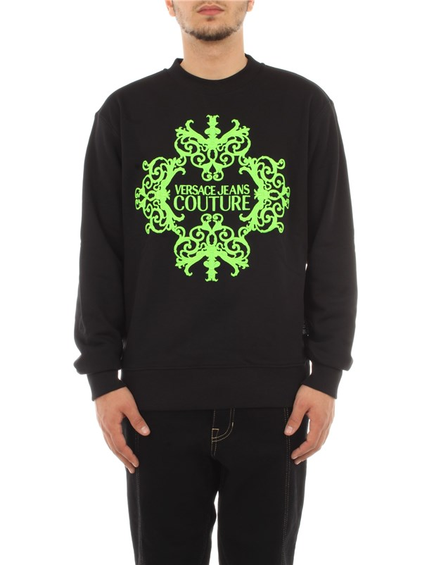 Versace Jeans Couture Clothing men Sweatshirt Black B7 GZA712 13988