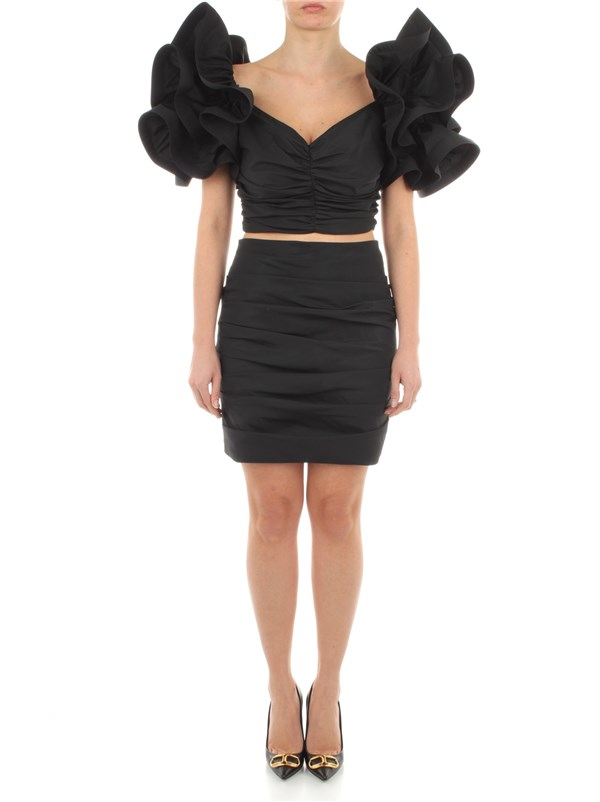 Elisabetta Franchi Clothing women Dress Black TG00311E2