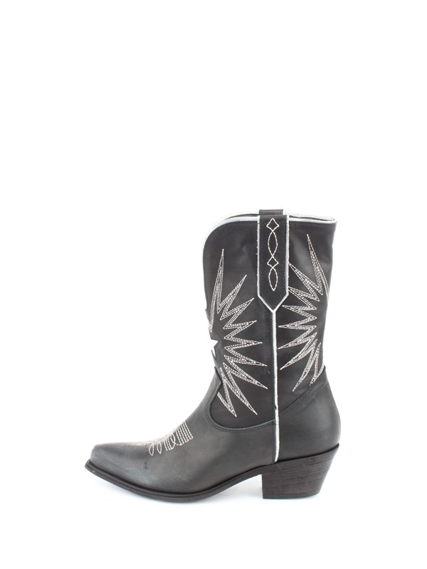 Ovye Shoes women Ankle boot Silver O-DLOLDWEST92