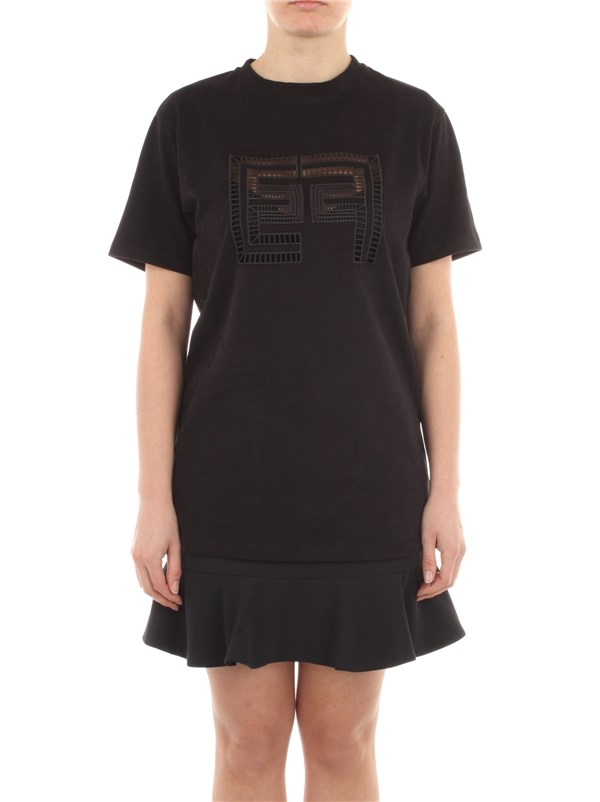 Elisabetta Franchi Clothing women T-shirt Black MA19911E2