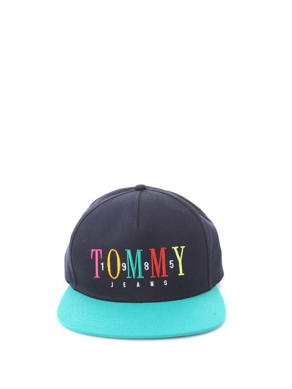 Tommy Hilfiger Jeans Accessories Unisex Cap Iris black / green AM0AM04490
