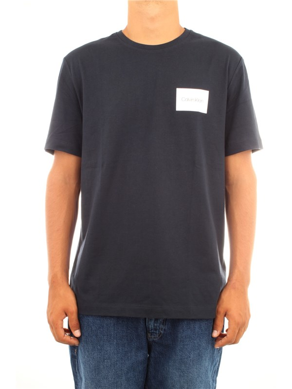 Calvin Klein Clothing men T-shirt Navy blue K10K103951