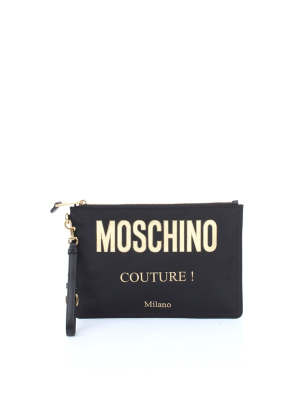 Moschino Couture Accessories men Pochette Black A8405 8205