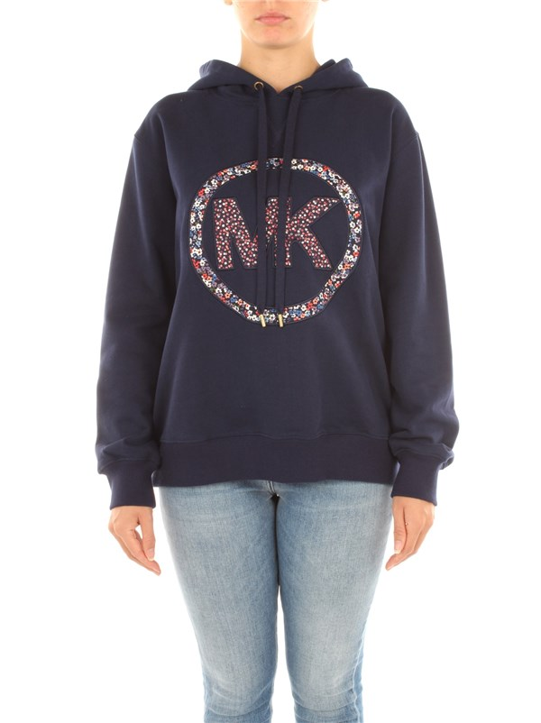 Michael Kors Clothing women Sweatshirt Navy blue MS05MGVBDD
