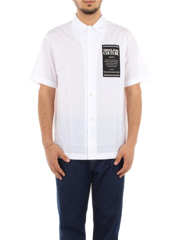 Versace Jeans Couture Clothing men Shirt Optical white B1 GWA6B3 30422