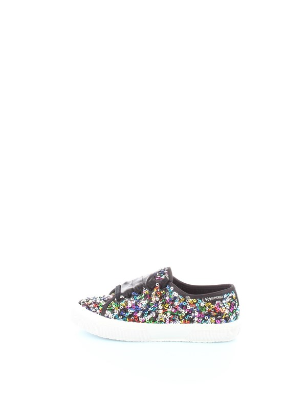 Superga Shoes women Sneakers Black / multicolor S00EHF0