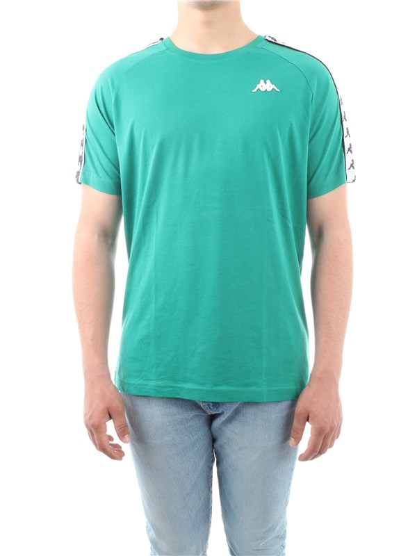 Kappa Clothing Unisex T-shirt Green 303UV10
