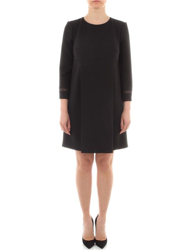 Elisabetta Franchi Clothing women Dress Black AB95111E2