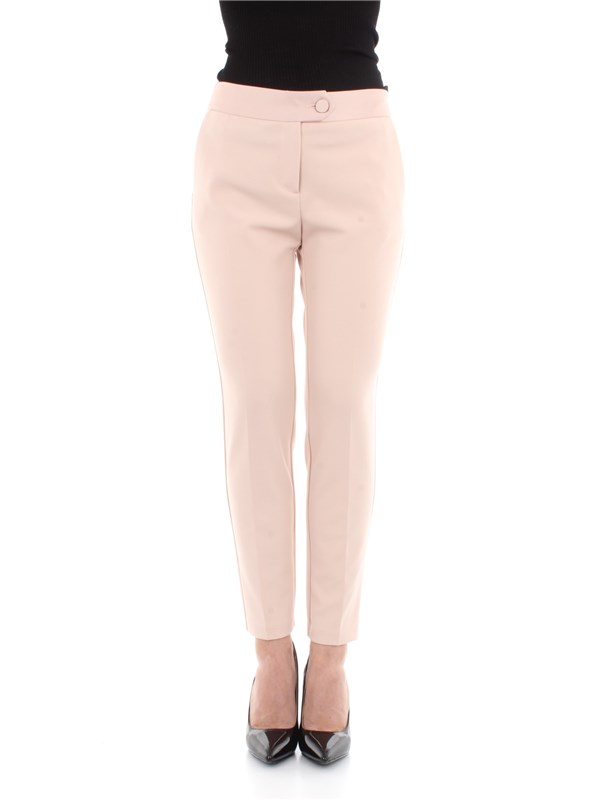 Imperial Clothing women Trousers Face powder PVN2XFW