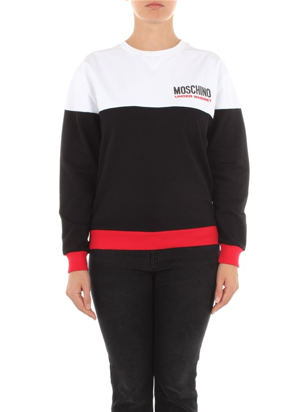 Moschino Underwear Clothing women Sweatshirt Black A 1713 9006