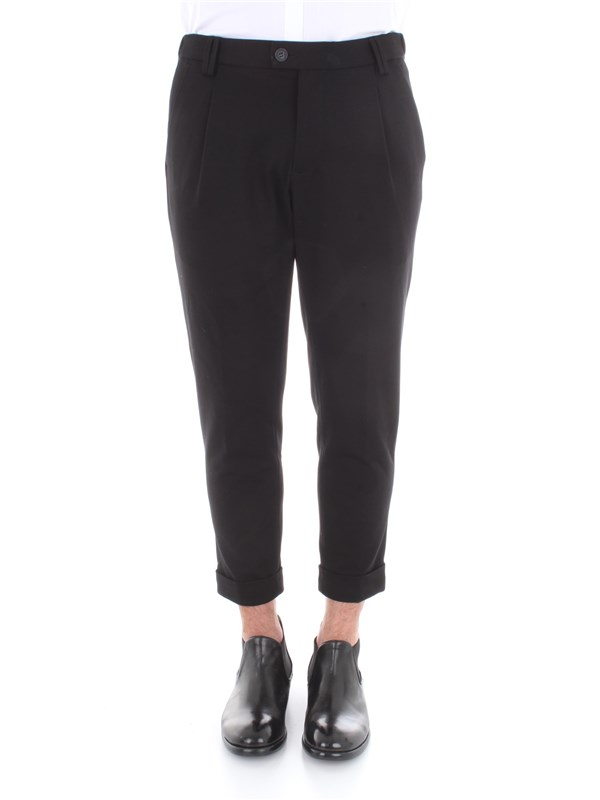 Imperial Clothing men Trousers Black P69141U002