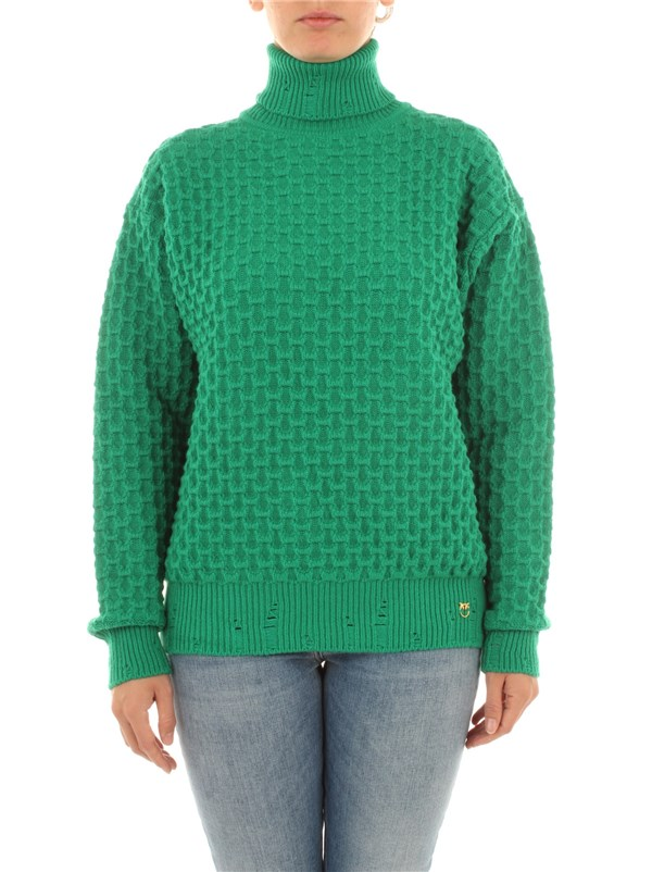 Pinko Clothing women Sweater Green 1B14X2 Y6QP