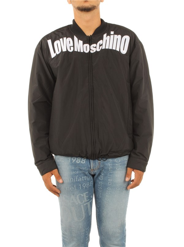 Love Moschino Clothing men Coat Black WH747 01 T001A