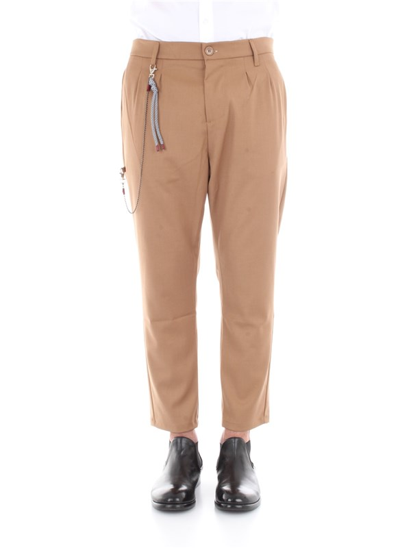 Imperial Clothing men Trousers Camel PB51YBKP38