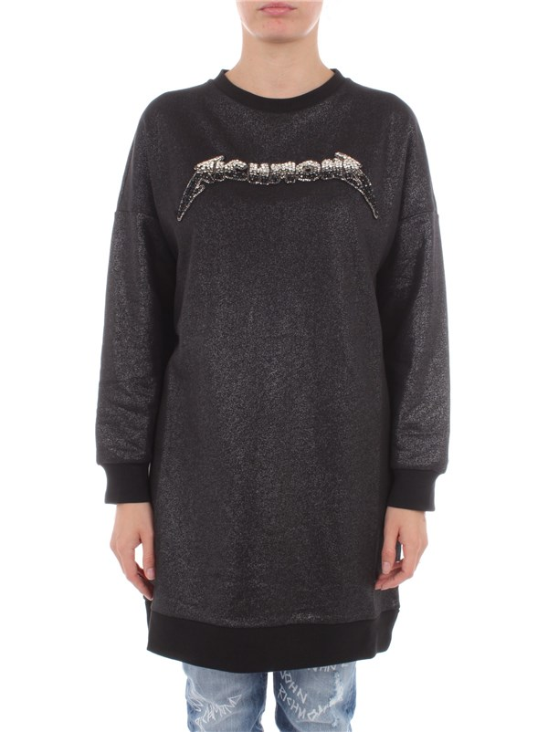 John Richmond Clothing women Sweatshirt Black RWA20183FE