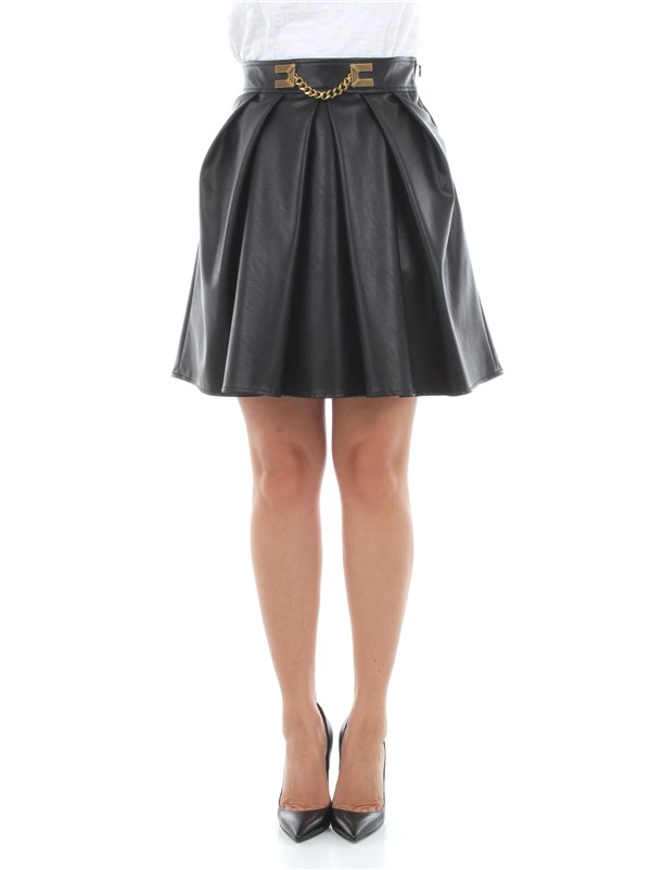 Elisabetta Franchi Clothing women Skirt Black GO42006E2