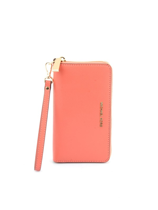 Michael Kors Accessories women Wallet Salmon 34F9GTVE9