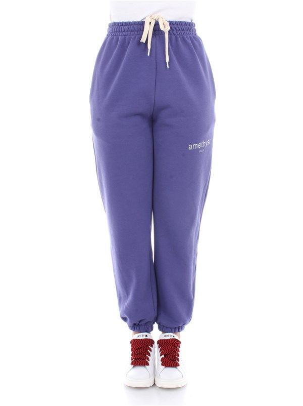 Vicolo Clothing women Trousers Violet RW0023
