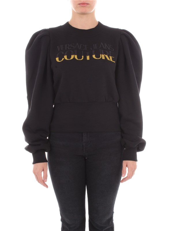 Versace Jeans Couture Clothing women Sweatshirt Black B6 HZB791 13998