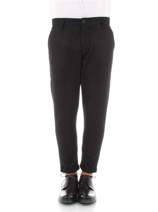 Imperial Clothing men Trousers Black PWB0APZ
