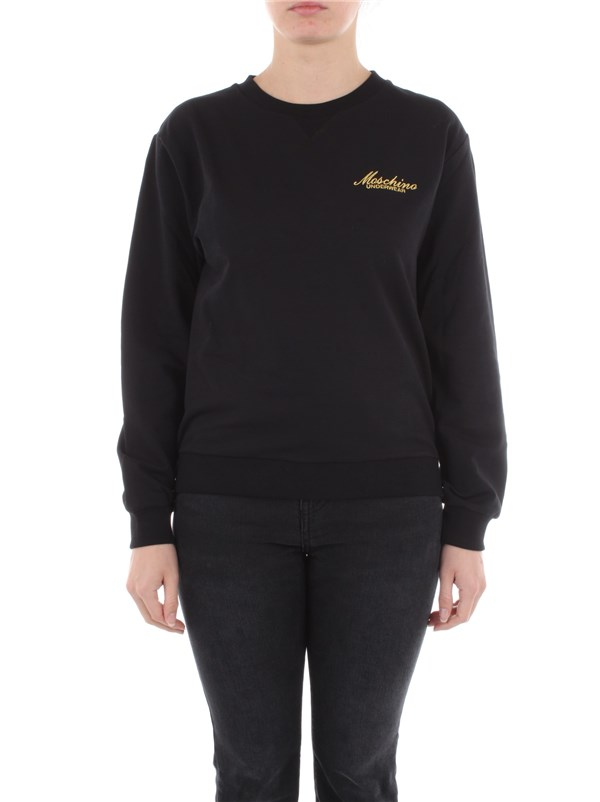 Moschino Underwear Clothing women Sweatshirt Black A 1722 9006